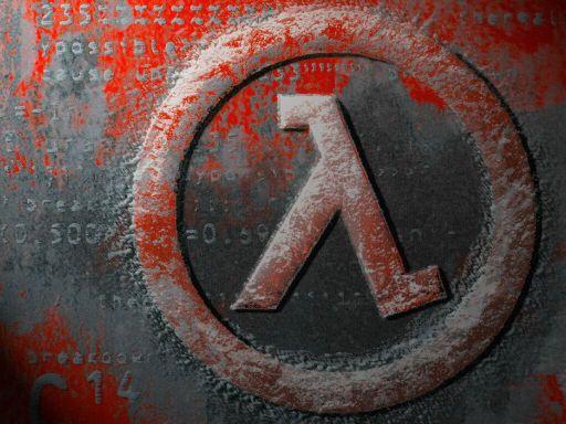 Logo de Half Life, 1er du nom:)