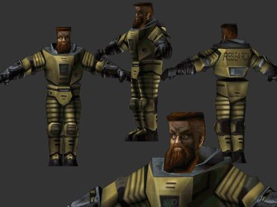 Gordon Freeman, 1ère édition, aka « Ivan the space Biker » chez Valve