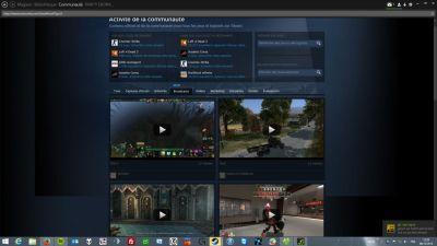 Steam Communauté: broadcasts