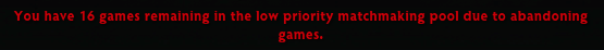 dota 2 low priority message